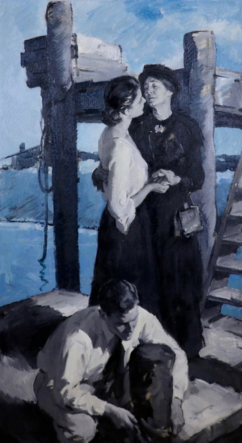 Pruett Alexander Carter, 'The Farewell', 20th Century, The Illustrated Gallery