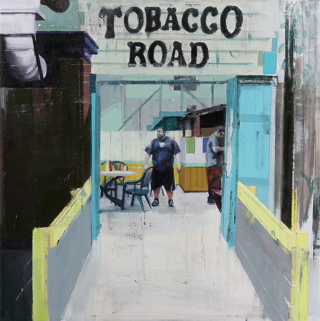 , 'Tobacco Road (Waiting #221),' 2014, Jonathan LeVine Projects