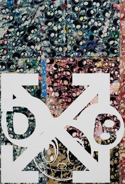 , 'DOB and Arrows: Patchwork Skulls,' 2018, Gagosian