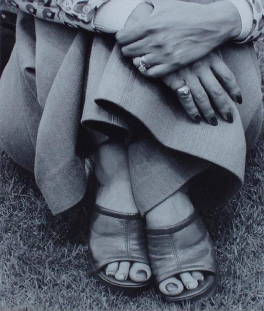 , 'Woman at picnic, Zoolake, Johannesburg,' 1975, Christine König Galerie