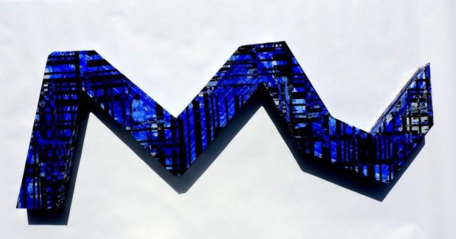 , 'Wall object #5 (ultramarine blue),' 2017, Galerie Olivier Waltman | Waltman Ortega Fine Art
