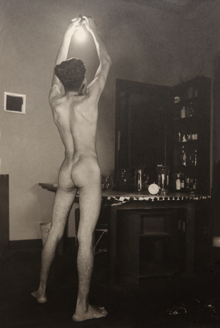 , 'Untitled (Nude with a light bulb),' ca. 1935, Jhaveri Contemporary