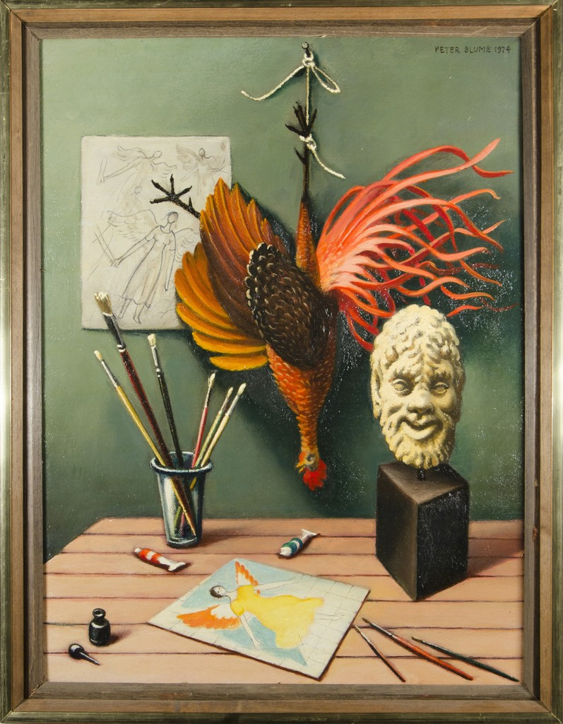 Peter Blume, 'Satyr with Cock,' 1974, ACA Galleries