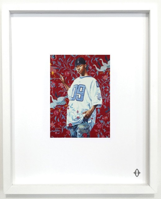 """Kehinde Wiley, 'NINE OF COINS, From the series """"Contemporary Magic: A Tarot Deck Art Project"""" Limited Edition 5th Anniversary Print Collection', 2015, ART CAPSUL"""