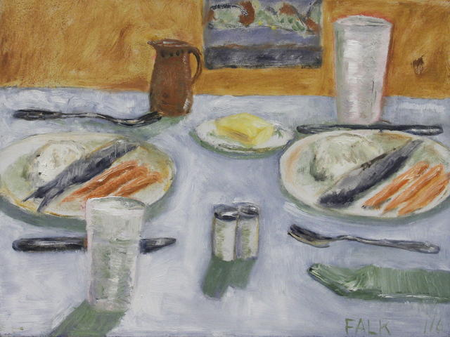 , 'Fish and Carrots,' 2016, Michael Gibson Gallery