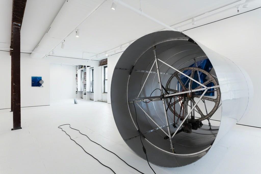 Installation view, Dorian Gaudin: Jettison Parkway
