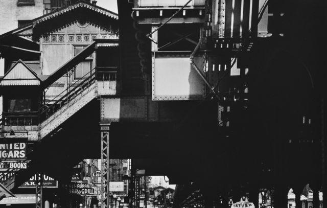 , 'El Station, New York,' 1954-1955, HackelBury Fine Art