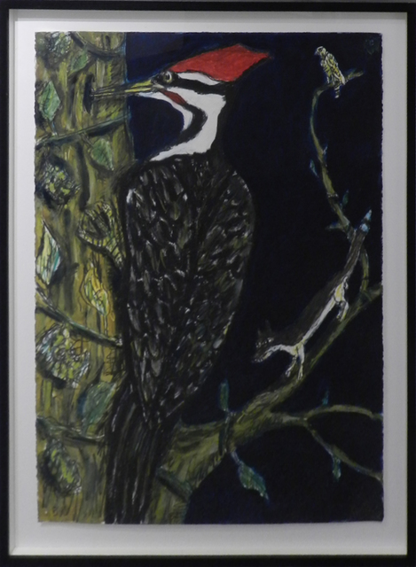 , 'Pileated Woodpecker,' 2015, William Campbell Contemporary Art, Inc.