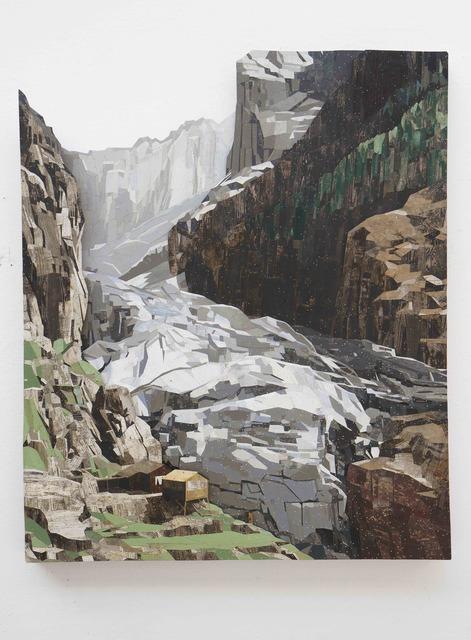 , 'Unterer Grindelwald Gletscher,' 2019, Galerie Ron Mandos