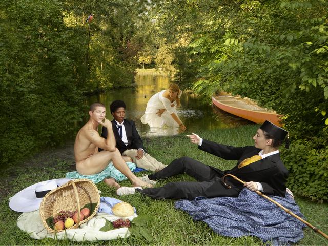 , 'Ode to Manet's Dejeuner sur l'herbe,' 2011, Jonathan Ferrara Gallery