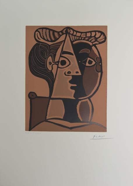 , 'Femme Assise au Chignon,' 1962, Long-Sharp Gallery