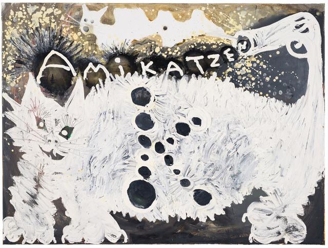 , 'Amikatzen (Kamikazen),' 2017, Anton Kern Gallery