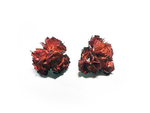 , 'Vanitas (Earrings) Red,' 2015-2016, Galerie Beyond
