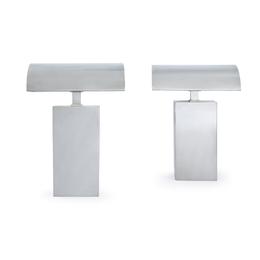 Pair of Table Lamps, Karl Springer Ltd., USA