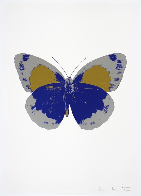 , 'The Souls II - Westminster Blue/Silver Gloss/Oriental Gold,' 2010, Paul Stolper Gallery
