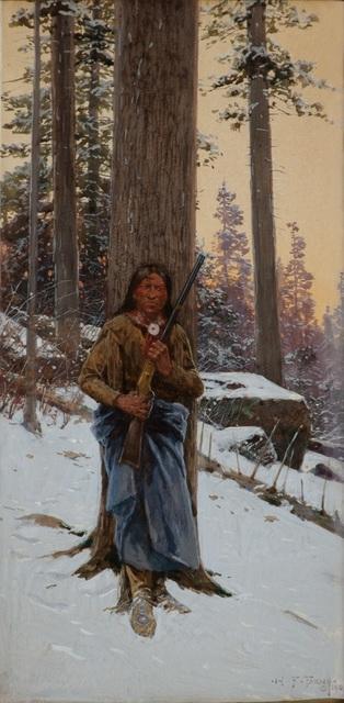 Henry F. Farny, 'The Broken Twig', Eisele Gallery of Fine Art