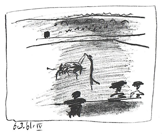 Pablo Picasso, 'Les Banderillas', 1961, michael lisi / contemporary art