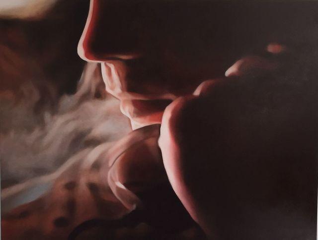 , 'Smoker (Ewan) 2,' 2015, Gavlak