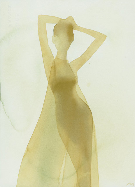 , 'Silhouette (Sheer evening dress),' 2001, CFHILL