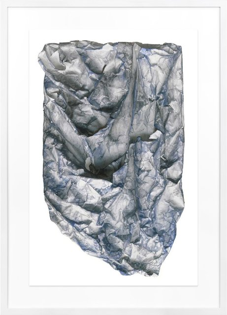 , 'Blue Raw Wrap 3,' 2001, TWYLA