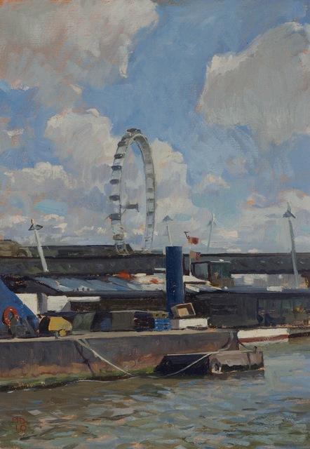 , 'London Eye,' 2010, Grenning Gallery