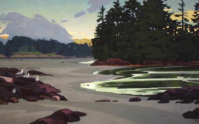 Clayton Anderson, 'Schooner Cove', Madrona Gallery