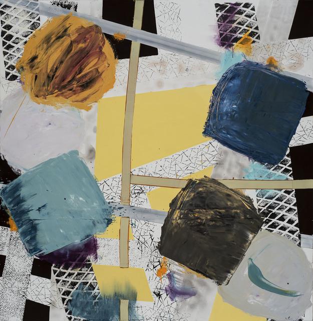 Vladimír Ossif, 'Untitled', 2019, Painting, Acrylic and oil on canvas, ZAHORIAN & VAN ESPEN