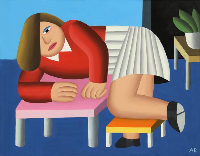, 'At home,' 2018, Antonio Colombo