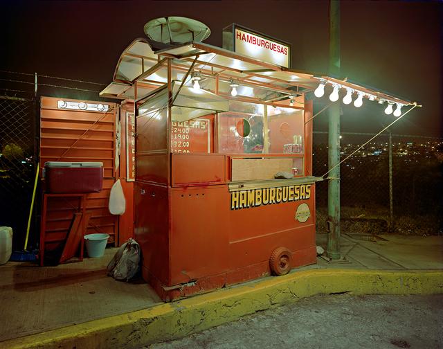 , 'Carrito Selling Hamburgers, Miramar Progreso, Naucalpan, Mexico State, Mexcio,' 2006, Robert Klein Gallery