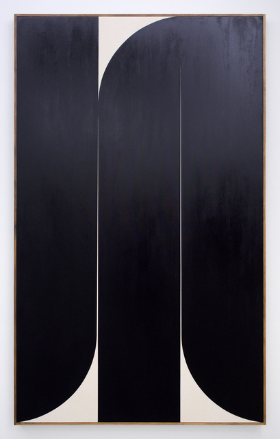 , 'Untitled (black 2),' 2019, Romer Young Gallery