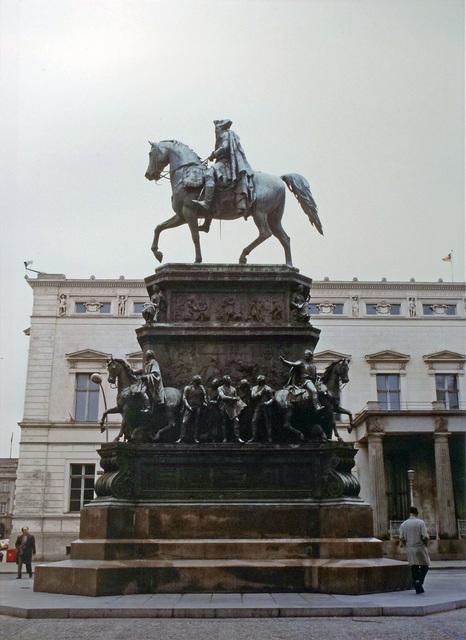 , 'Frederick the Great, Unter den Linden, East Berlin,' 1982, Inda Gallery