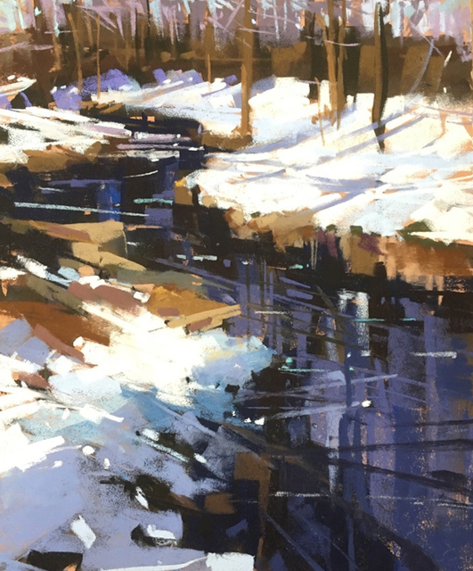 , 'Winter at the Arboretum ,' 2019, Copley Society of Art