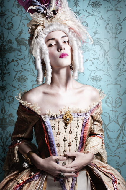 , 'Portrait of Woman Dressed as Marie Antoinette ,' , Getty Images Gallery