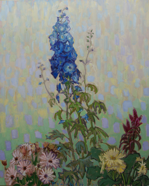 , 'The Blue Delphinium 2,' , Winchester Galleries