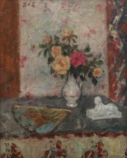 , 'Vase de Roses, Eventail et Sphinx,' 1870-1950, Waterhouse & Dodd