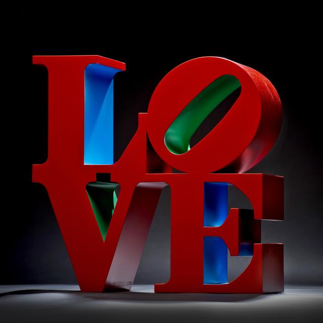 , 'LOVE (Red/Blue/Green),' 1966-1998, Wexler Gallery