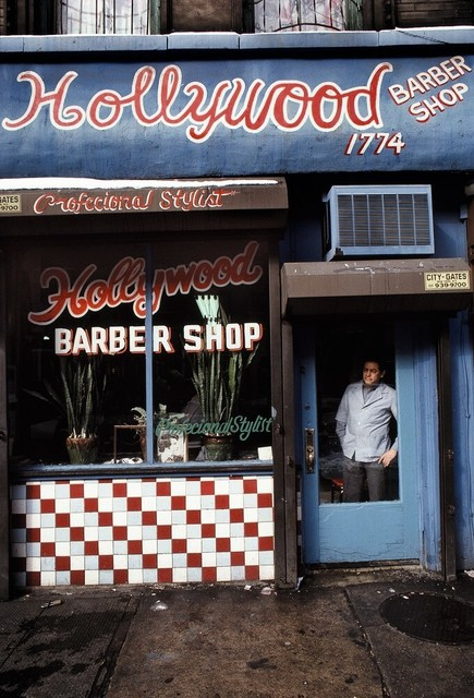 , 'Hollywood Barber Shop, Spanish Harlem, NY ,' 1986, Galerie Bene Taschen