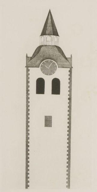 David Hockney, 'The Clock Tower and The Clock (Tokyo 76)', 1969, Sworders