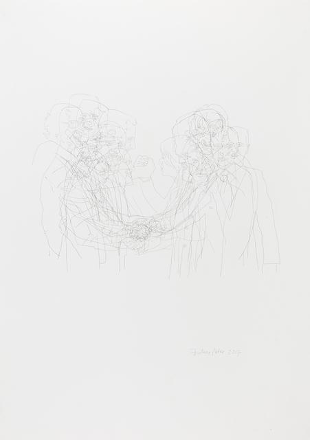 , 'Handshake with Assad,' 2017, Zilberman Gallery