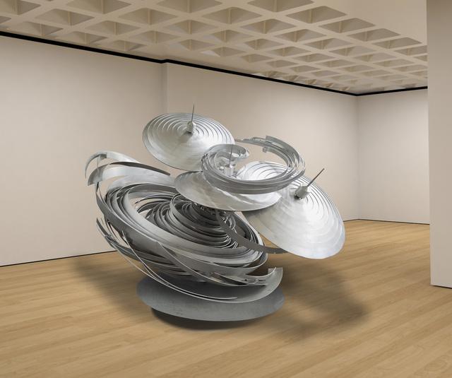 , 'Untitled Cyclone,' 2017, Marlborough Gallery