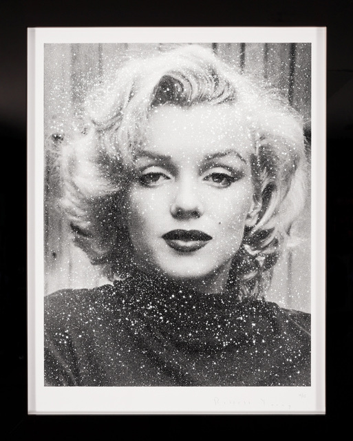 Russell Young, 'Marilyn (Diamond Dust) in Black & White', 2019, Print, Silkscreen with diamond dust, Artsy x Forum Auctions