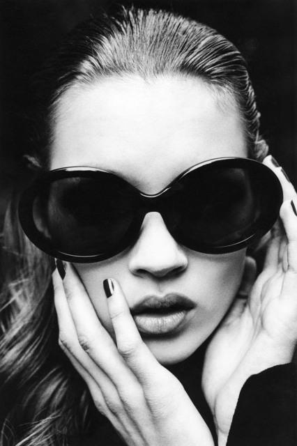 Stephanie Pfriender Stylander, 'Kate Moss (That Girl), Harper's Bazaar Uomo, New York', 1992, Photography, Archival Pigment Print, Staley-Wise Gallery