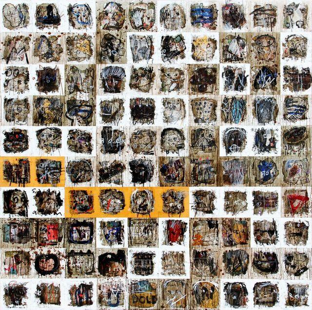 , 'Burning Series: Follow The Line,' 2017, Artemis Art