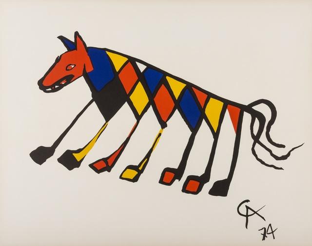 Alexander Calder, 'Beastie', 1974, Forum Auctions