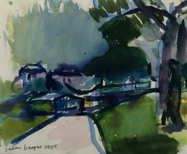 , 'Boston Public Garden,' 1955, Childs Gallery