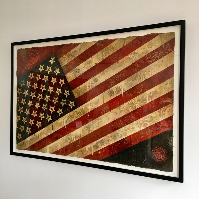 Shepard Fairey (OBEY), 'Flag', 2010, Galerie C.O.A