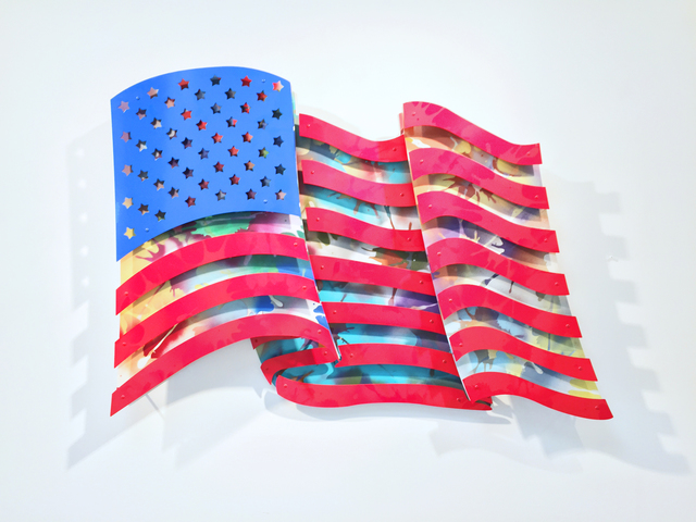 , 'American Flag - Multi Color,' 2016, FP Contemporary