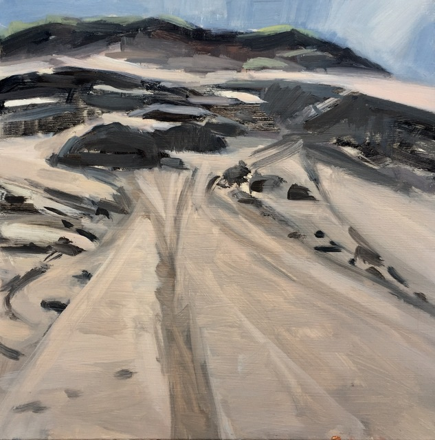 Diana Horowitz, 'Long Nook Dune II', 2017, Painting, Oil on Panel, The Schoolhouse Gallery