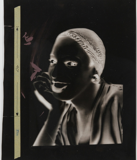 "Andy Warhol, 'Unique acetate from Ladies & gentlemen ""Wilhelmina Ross"".', ca. 1975, MultiplesInc Projects"