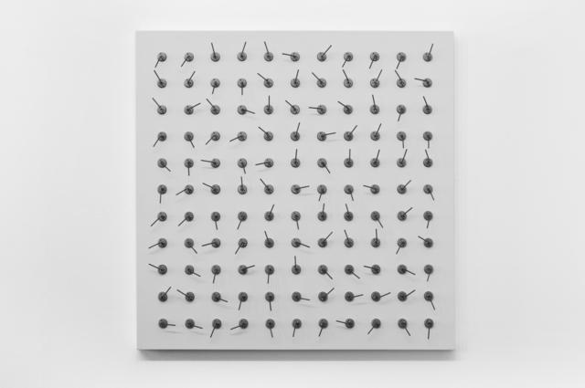 , '121 prepared dc-motors, tension springs 35mm,' 2012, Eduardo Secci Contemporary